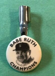 Babe Ruth Pencil Clip  Boston