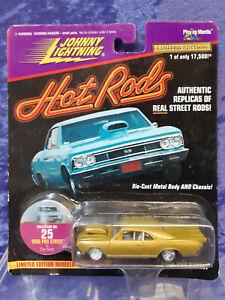 Johnny Lightning Hot Rods 1/64 MOC 25 1966 Pro Street