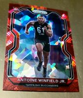 2020 Panini Prizm 322 Antoine Winfield Jr. RC RED🔴CRYSTAL CRACKED ICE SSP TAMPA