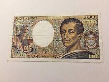 France 200 francs Montesquieu 1992