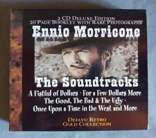 Ennio Morricone ‎– The Soundtracks - The Gold Collection - 2 CD Deluxe Edition