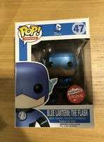 DC Comics Super Heros Blue Lantern Flash  Metallic Funko Pop Vinyl