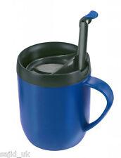 Zyliss Smart CAFE una tazza di caffè CAGLIARI CALCIO HOT Tazza da viaggio-Blu-Gratis P&P
