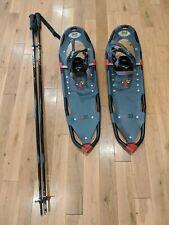 "Atlas 930 Trail Snow Shoes SLS Snowshoeing & Scott Triton Seres 2 52"" Poles"