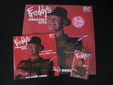 Freddy's Greatest Hits The Elm Street Group LP Cassette Single Nightmare Krueger