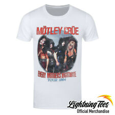 Official Motley Crue Every Mothers Nightmare Rock Band T-Shirt