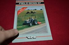 White Field Boss 37 Tractor Dealers Brochure BWPA