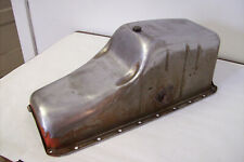 409 CHEVY IMPALA BEL AIR BISCAYNE 6 QT OIL PAN NO DENTS NO RUST NO REPAIRS 348
