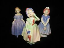 New ListingRoyal Doulton vintage lady figurines Lot Of 3