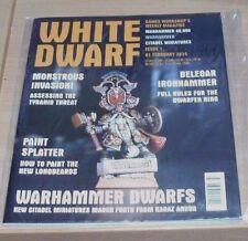 Games Workshop White Dwarf weekly magazine #1 1st FEB 2014 Warhammer 40,000 &