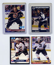 WBS Penguins Darcy Robinson Lot of 4 Cards Pittsburgh Excellent Mint Collectible