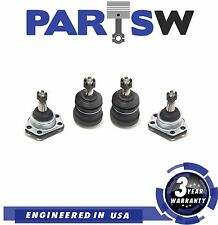 4Pc New Suspension Kit for Buick Cadillac Chevy GMC Upper & Lower Ball Joints