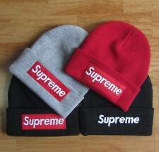 SUPREME ClassicUnisex Pattern Warm Winter Cool Beanie Men Knitted Hat Adjustable