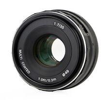Lente 35mm f1.7 multicoated para micro 4/3 apsc
