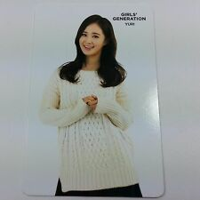 SNSD K-POP SM Artium Fortune Cookie Limited Official Photocard Yuri Girls Idol