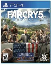 FAR CRY 5  PS4 PLAYSTATION 4  - BRAND NEW FACTORY SEALED