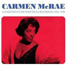CARMEN McRAE - HER FINEST DECCA RECORDINGS 1955-1958 (NEW SEALED 3CD)