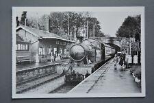 R&L Postcard: Modern Tom Heavyside Card, West Somerset Railway