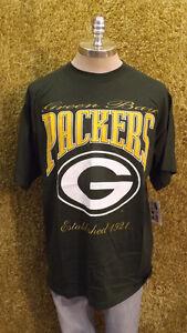 Vtg Green Bay Packers Est 1921 T-shirt by Nutmeg Mills USA 1997 XL
