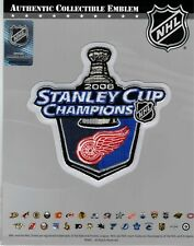 Official 2008 Detroit Red Wings Stanley Cup Champions Jersey Patch NHL