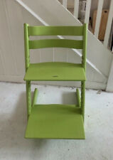 Stokke Tripp Trapp Highchair In Lime Green Recent Model