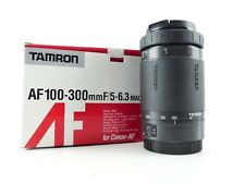 CANON EF AF FIT TAMRON 100-300MM F5 - 6.3 MACRO ZOOM LENS METAL MOUNT BOXED 86D