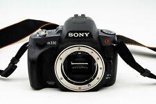 Sony Alpha DSLR-A330 10.2MP Digital SLR Camera - Black (Body Only) PARTS ONLY