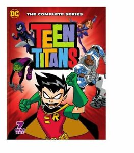 TEEN TITANS: COMPLETE SERIES NEW DVD