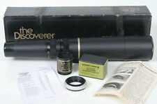 Bausch Lomb 15-60 zoom 60mm tele scope spotting w/ camera t-mount, discoverer