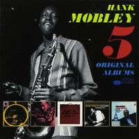 Hank Mobley : 5 Original Albums CD Box Set 5 discs (2018) ***NEW*** Great Value