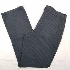Womens Jeans Striped Size 32 by PARTS Cotton Boot Cut Relaxed W33 L31