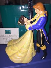 WDCC Belle & Prince: The Spell is Lifted Limited Edition 1741/2000