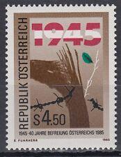 Austria Austria 1985 ** mi.1810 día de la liberación Liberation Day