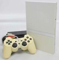 "PS2 Slim Console System SCPH-77000 White Playstation 2 ""NTSC-J"" AJ3292195"