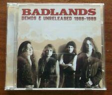 BADLANDS Demos 1988-89 CD Jake E. Lee Ray Gillen Ozzy Sabbath Whitesnake rare