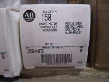 NEW ALLEN-BRADLEY SMART MOTOR CONTROLLER 150-NFS FANNING