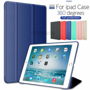 "Slim Leather Smart Cover Silicone Case For iPad Pro 12.9"" 11"" Air 4 10.9"" 2020"
