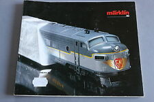 X250 MARKLIN Train catalogue Ho 1990 1991 160 pages 26,5*22 cm F