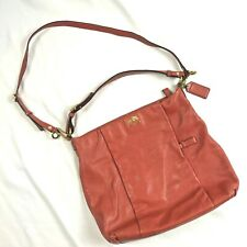 Coach Isabelle Burnt Orange Over The Shoulder Bag/Purse