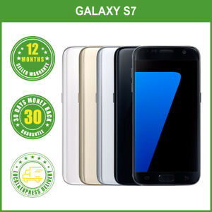 New Samsung Galaxy S7 G930F LTE 4G Smartphone 32GB 1Year Wty LOCAL DELIVERY