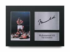 Muhammad Ali Signed Pre Printed Autograph Photo Gift For a Boxing Fan