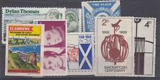 More details for gb locals collection of 8 labels cinderellas mnh jk5716