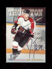 JOE THORNTON San Jose Sharks 1997 Scoreboard Hockey - Certified Autograph RC