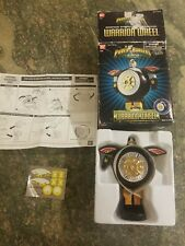 VTG Power Rangers Zeo Warrior Wheel Bandai 1996 Deluxe RARE Transforms IOB