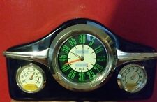 Car Dashboard mantel Clock w Hygrometer & Thermometer by Wellgain father's day