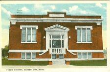 Garden City, KS The Public Library 1942