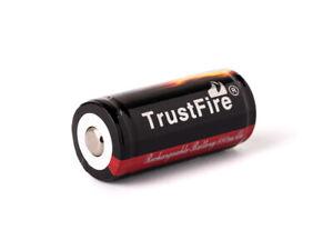 Trustfire 16340 880mAh 3,6V - 3,7V geschützt (PCB)