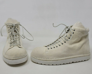 Marsell Pallotolla Size 40 Off-white suede high-tops, US 8 Men or 10-10.5 Women