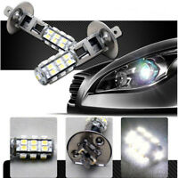 2X H1 25-SMD LED Canbus Hyper Headlight High Beam Head Lights Bulbs White 6000K