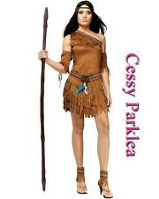 Pocahontas Native American Indian Wild West Fancy Dress Party Costume